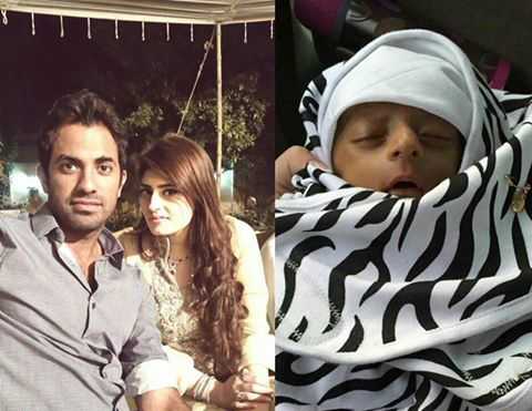 Wahab Riaz Blessed With Baby Girl Eshal