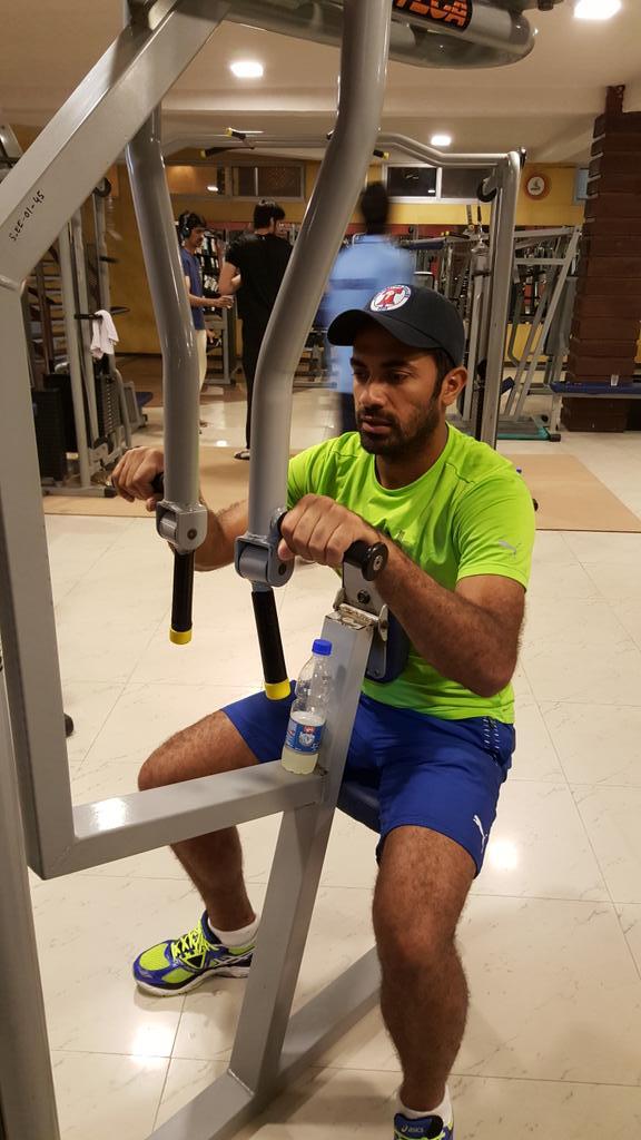 Wahab Riaz Gym Session