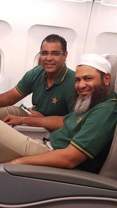 Waqar Younis And Mustaq Ahmed