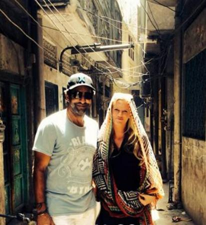 Waseem Akram With wife Shaniera Visited Childhood Home