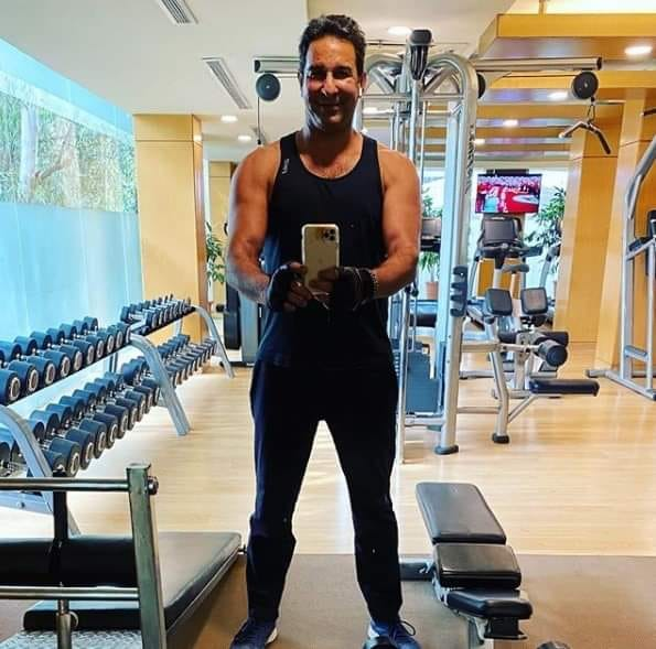 Wasim Akram Is 53 Years Old Now But Still Has Passion And Dedication For Fitness