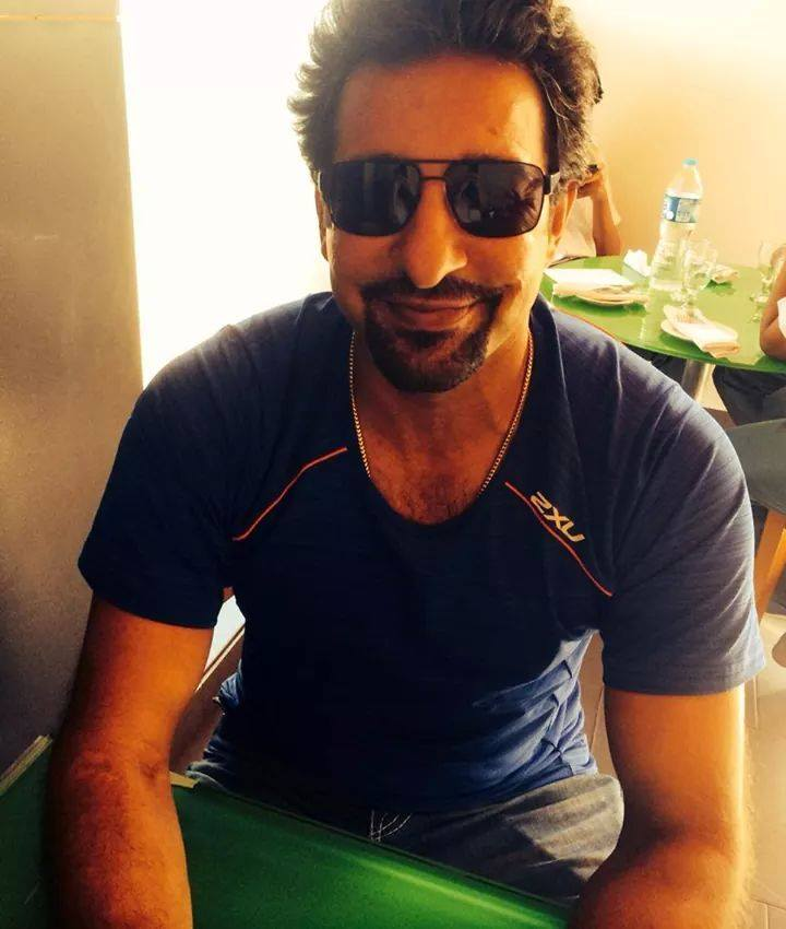 Wasim Akram New Look