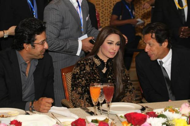 Wasim Akram, Reema Help Imran Build Second Cancer Hospital