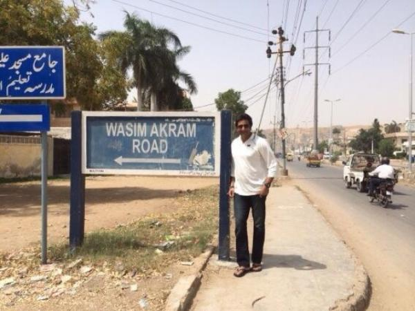 Wasim Akram Road At North Nazimabad, Karachi