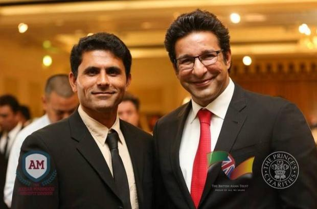 Wasim Akram With Abdul Razzaq Together