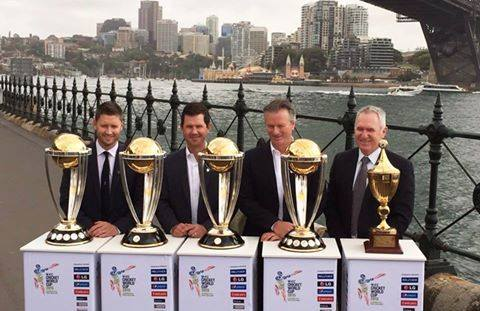 World Cup Winners Captains of Australia