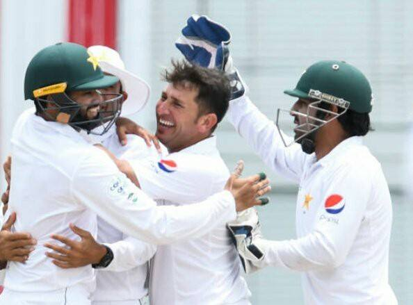 Yasir Shah 6 Wickets For 90 Runs Against WI