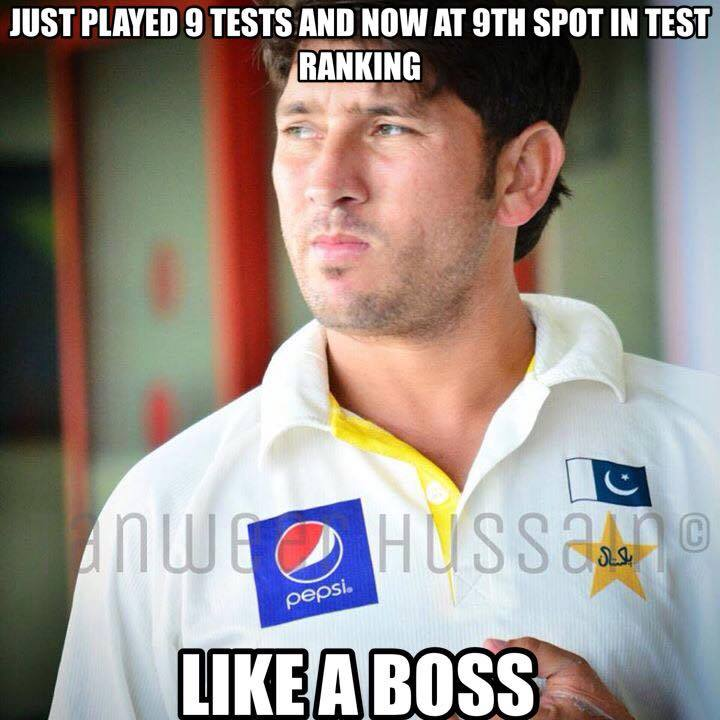 Yasir Shah Got 9th Position In Test Ranking