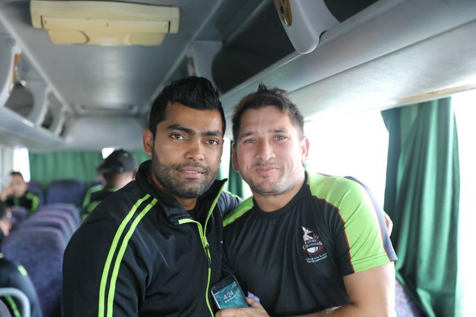 Yasir Shah & Umar Akmal Represent Lahore In PSL 3