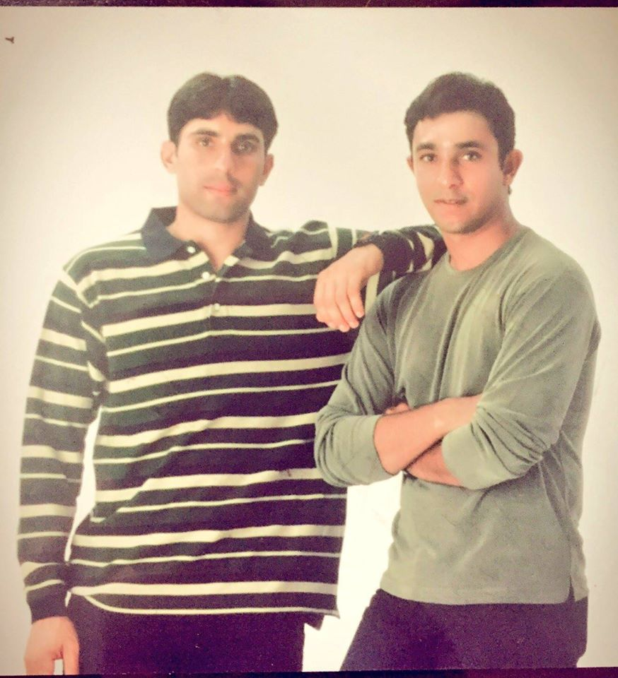 Young Misbah & Azhar Mahmood Old Photo