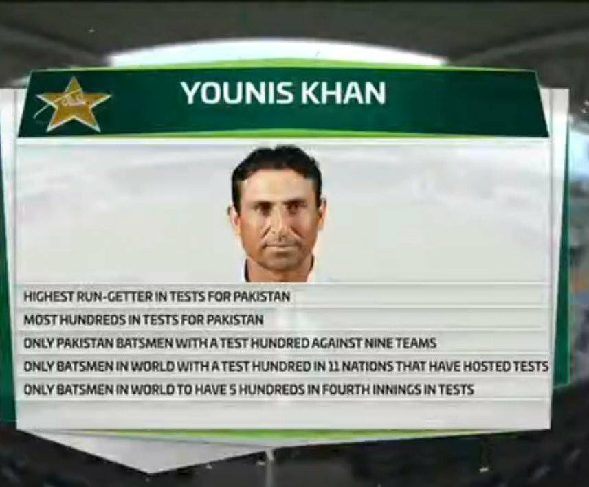 Younis Khan A Great Legend