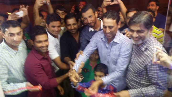 Younis Khan As Chief Guest For Student Biryani