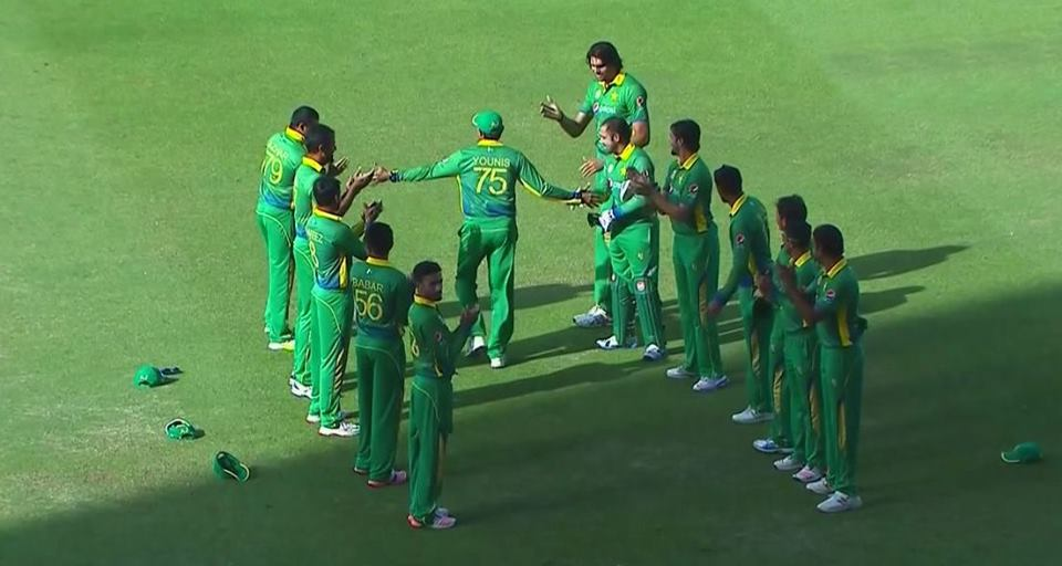 Younis Khan Gets Guard of Honour In His Final ODI