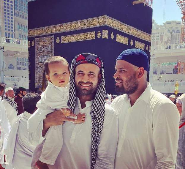 Yusuf And Irfan Pathan In Makkah