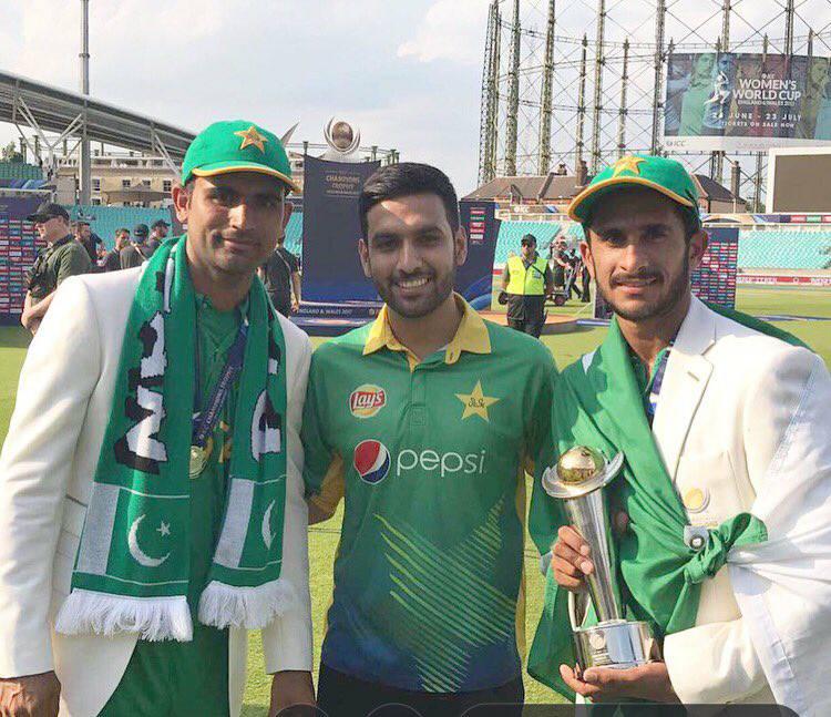 Zaid Ali With Hasan Ali & Fakhar Zaman