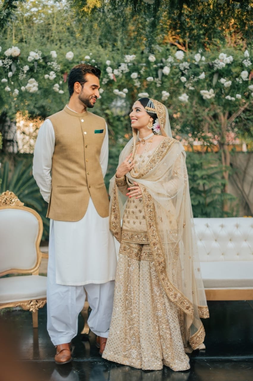 Zainab Abbas Got Married With Hamza kardar