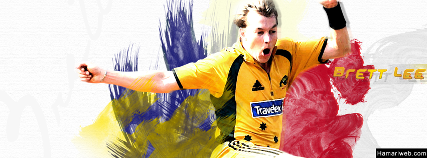 Brett Lee Facebook Cover