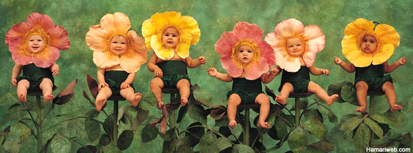 Cute Babies Flower