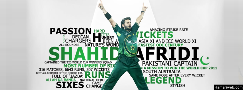 shahid afridi fb cover   cricket images amp photos