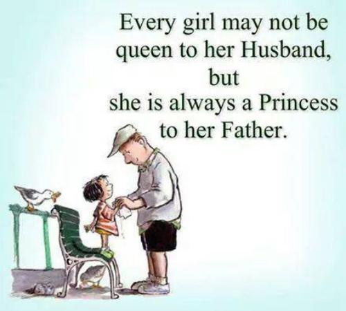 Every Girl Is A Princess To Her Father