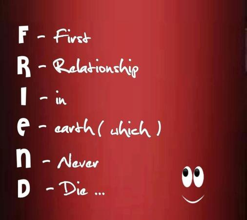 Friend stands for...