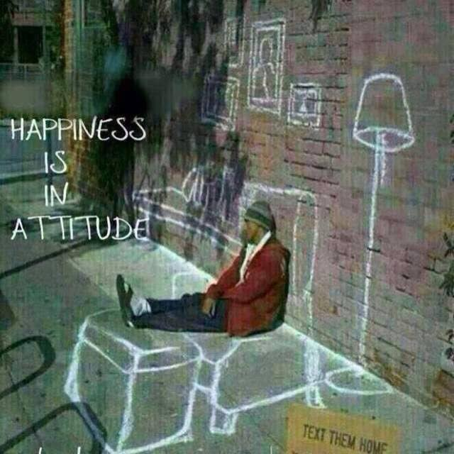 Happiness Is In Attitude Beautiful Quote