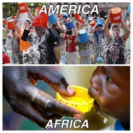 People In America Vs People In Africa