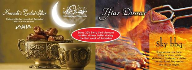 Asia Live Iftar And Sehri Deals 2014