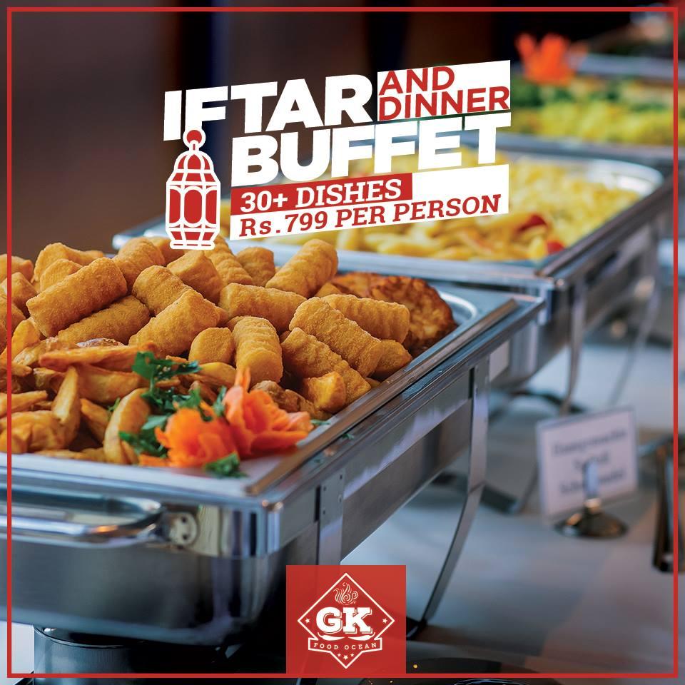 GK Food Iftar Deals 2017