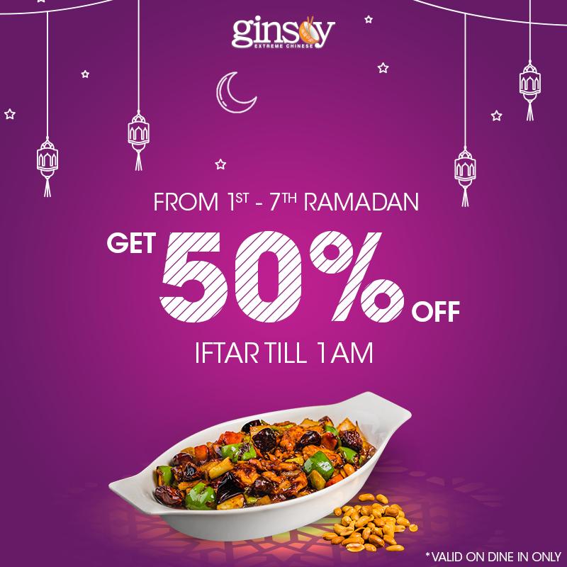 Ginsoy Ramadan Deal 2019