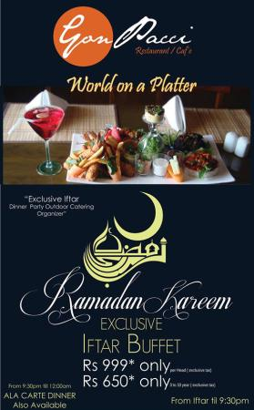 Gon Pacci Iftar And Sehri Deals 2014