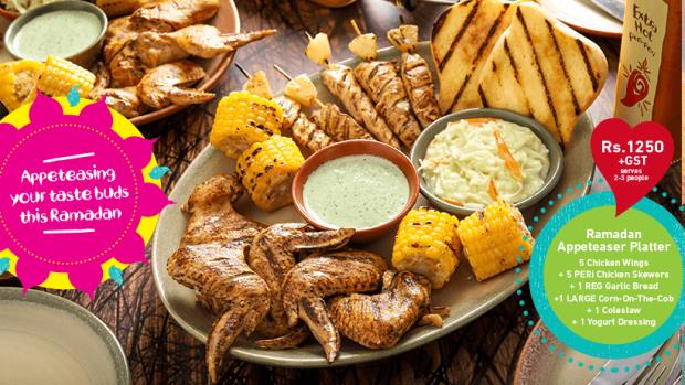 Nandos Iftar And Sehri Deals 2019
