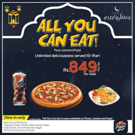 Pizza Hut Iftar And Sehri Deals 2017