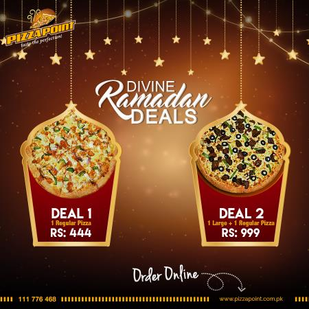 Pizza Point Iftar And Sehri Deals 2017