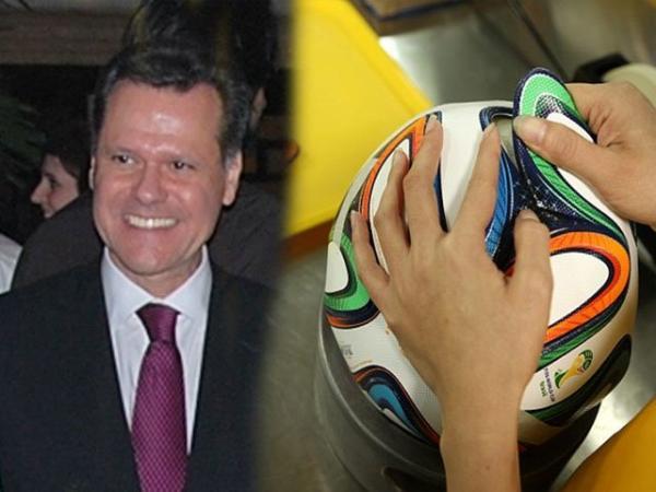 Brazilian Ambassador Lauds Pakistan Made Football Soccer Ball