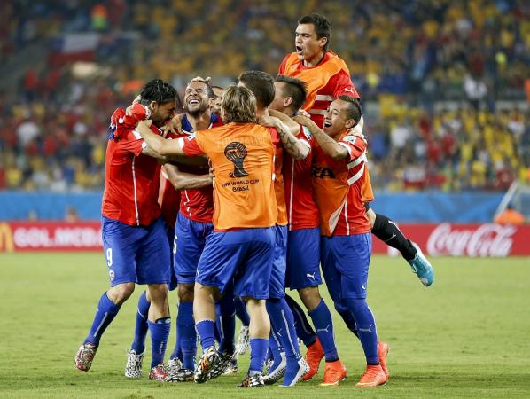 Chile Win Over Australia