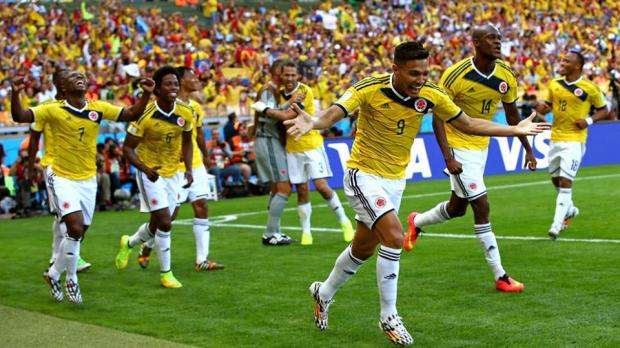Colombia 3-0 Greece - Football World Cup 2014