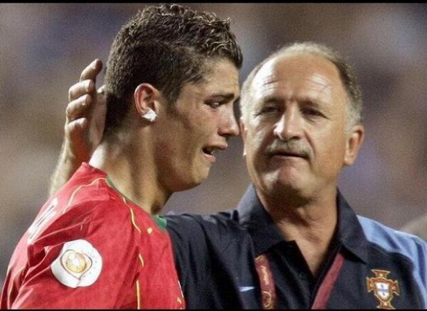 Cristiano Ronaldo's Crying Face