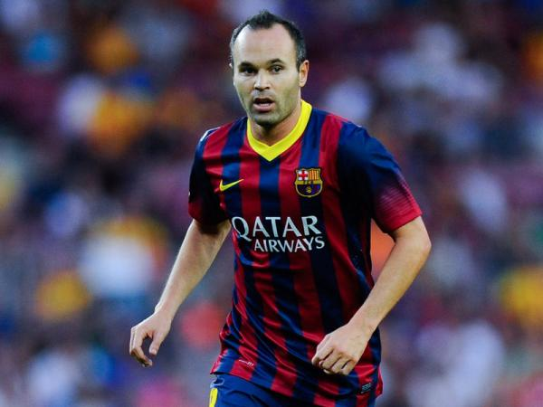 Famous Footballer Iniesta From Spain