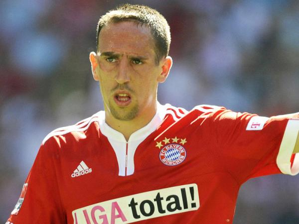 Famous Footballer Ribery From France