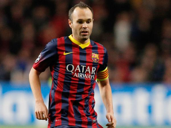 Iniesta - Famous Footballer From Spain