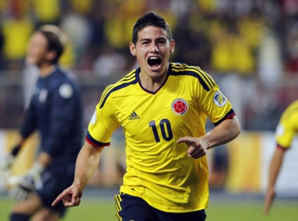 James Rodriguez Became Man of The Match