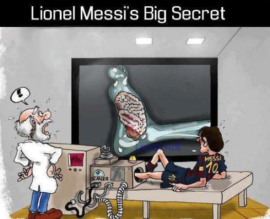 Lionel Messi Big Secret Revealed