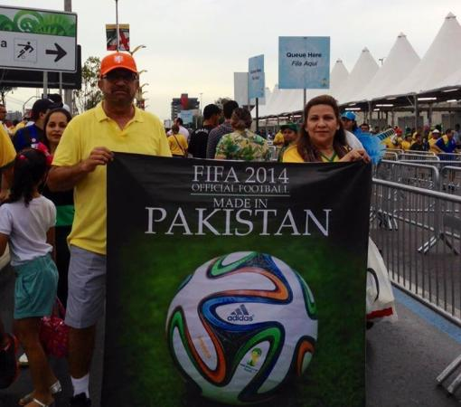 Proud Moment For Pakistani In Football World Cup 2014