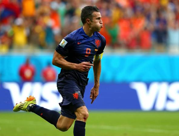 Robin Van Persie - Man Of The Match Of Spain Vs Netherlands