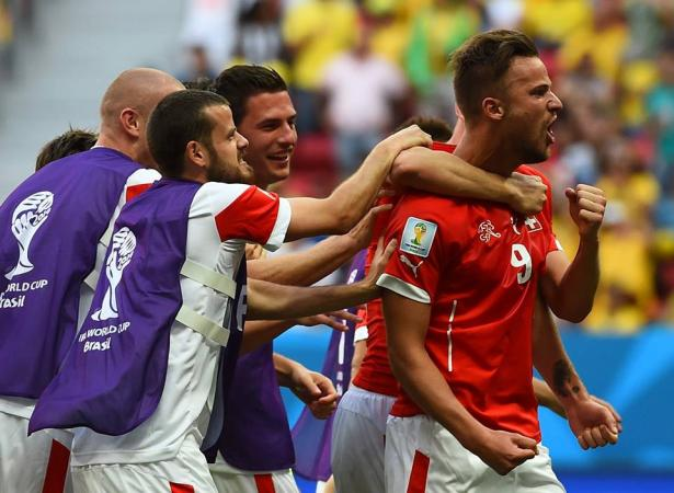 Switzerland 2-1 win over Ecuador