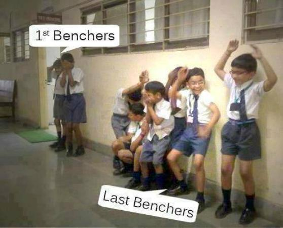 1st bencher or a last bencher