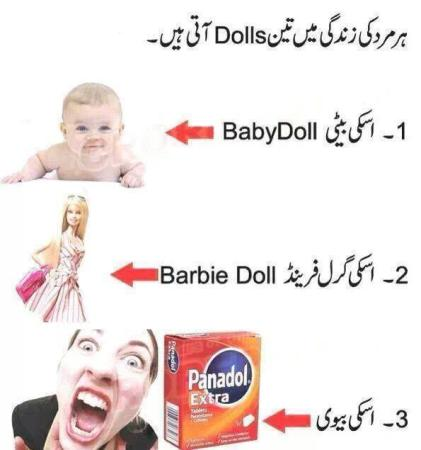 3 Dolls And Panadol