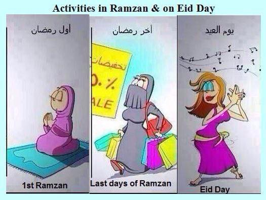 Activities From Ramadan To Eid Day