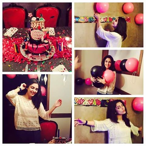 Actress Maya ali Celebrated Her Birthday